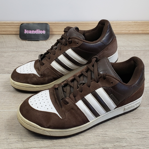 Adidas EVN Men's Brown Suede Shoes Sneakers Size13